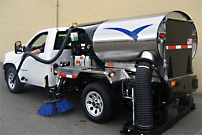 sweep-truck